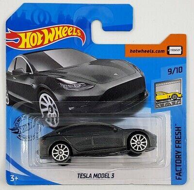 Hot Wheels Tesla Model 3 Grey Factory Fresh New 2020   eBay