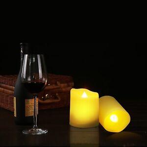 Teelichter 9er Set Led Kerze Für Außen Mit Timer Fernbedienung
