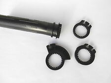 Gasgriff / Gasgriffrohr HONDA MotoCompo universal 1&2 zügig 110mm - grip assy