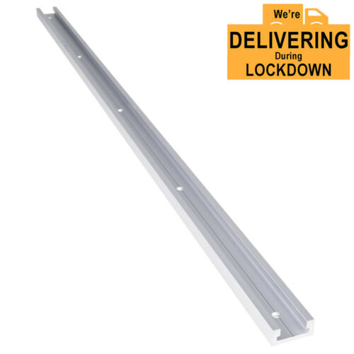 800mm T-Track Woodworking T-Slot Miter Track Jig Router Table Aluminium UK
