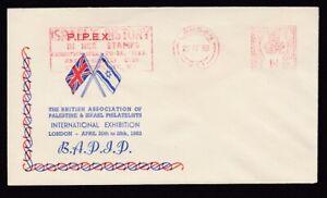 PIPEX-Palestine-amp-Israel-Philatelists-Exhibition-1953-Israel-slogan-meter-cancel