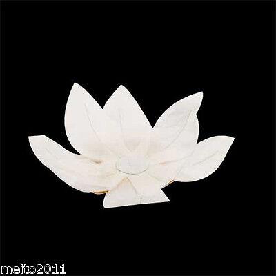 Lots White Paper Lotus Water Flower Wishing Lantern Floating Lamp Wedding Party#