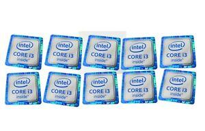 10PCS 6th Generation Intel CORE i7 inside Sticker 18mm x 18mm