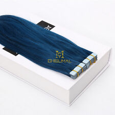 2017 Skin Weft PU 3M Tape in Remy 100% Human Hair Extensions 16-26Inch