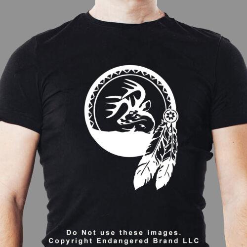 Dream Catcher Buck Deer  Southwest Spiritual New Mexico Native America sticker