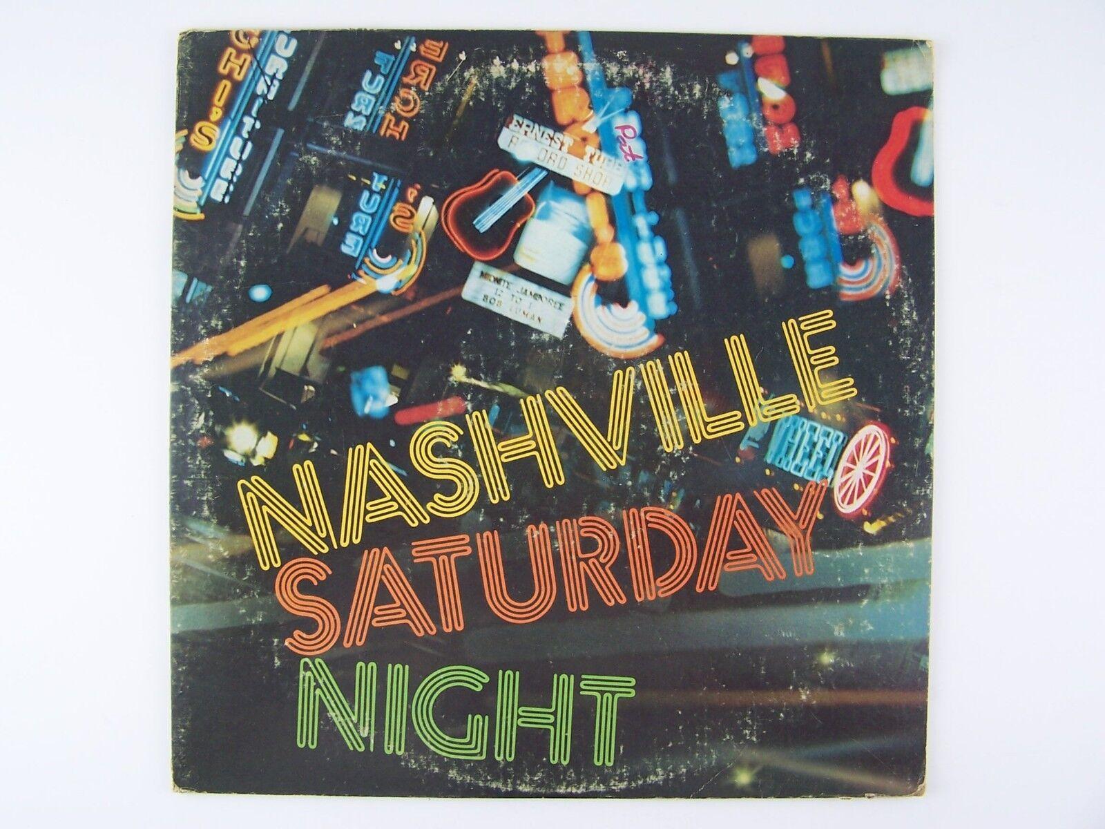 Nashville Saturday Night Vinyl LP Record Album 1P-6215