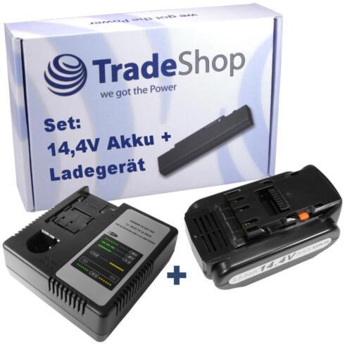 Chargeur pour panasonic ey7541ln2s ez7540x 2in1 set 14,4v 4000mah Li-ion Batterie