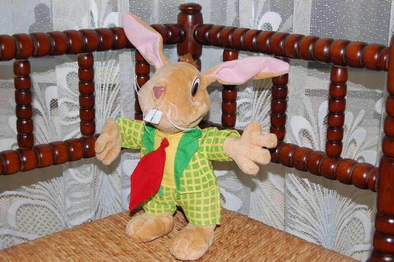 Vintage Jamin Candy Store Factory Promotional Bunny Rabbit 24 CM