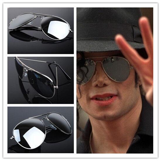 98b4f18b5d69a Punk Menmj Michael Jackson Military Classic Frog Silver Drive Mirror  Sunglasses for sale online