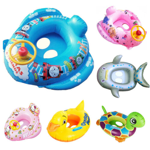 Baby kids  Toddlers Swimming Inflatable Aids Trainer Floats Rings clearance