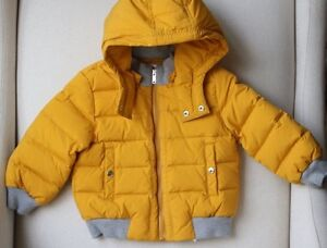 719d4f9ee Details about GUCCI BABY YELLOW PADDED PUFFER JACKET COAT 9-12 MONTHS