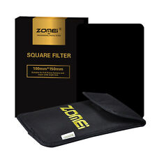 ZOMEI 150mm x 100mm Neutral Density ND8 Full Color Squae Filter for Cokin Z