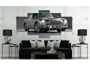 Aston-Martin-DB5-James-Bond-Canvas-Wall-Art-Print-Various-Sizes