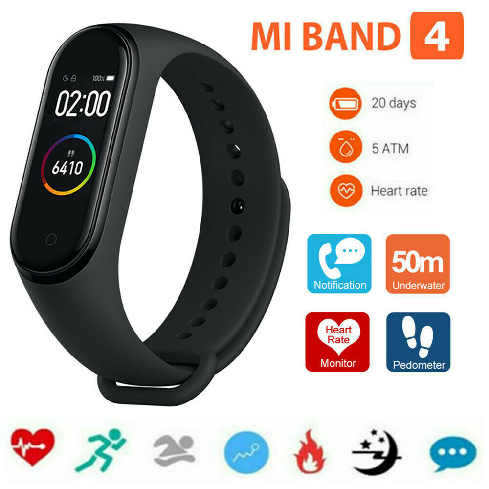 XIAOMI Mi Band 4 Smart Bracciale frequenza cardiaca Fitness Tracker 2
