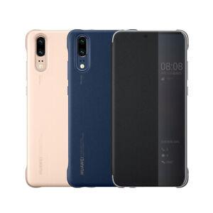 Details about Original Huawei Official P20 / P20 Pro Smart View Flip Cover Case Retail Box