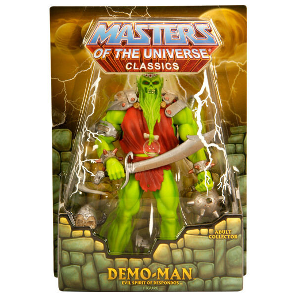 Demo Man Motu Masters Of The Universe Classics Moc Nouveau & Ovp Www _