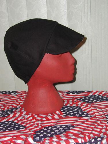 Bike Hat 4 Working Men $7.50 each Plain Black Welding Red/'s American Made