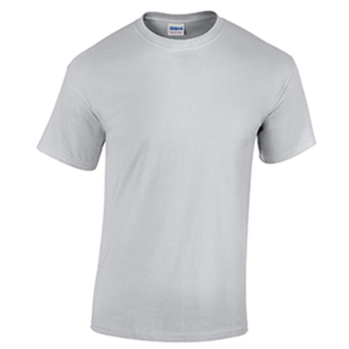 Ice Grey LOW PRICE Blank Men/'s T Shirt Plain Work Mens Gildan Tee