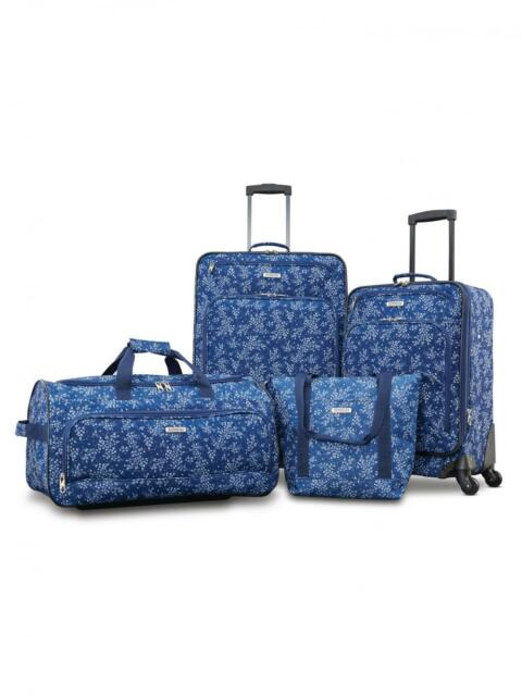 LUGGAGE SETS SUITCASE SET AMERICAN TOURISTER CARRY ON BAG TRAVEL BAGGAGE CUTE ~~