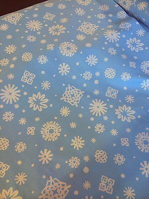 Alexander Henry Fabrics Friendly Flakes Light Blue Snowflakes Elsa Frozen theme