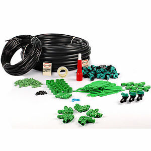 DRIP IRRIGATION GARDENING PLANT WATERING GARDEN IRRIGATION 50 PLANTS DIY