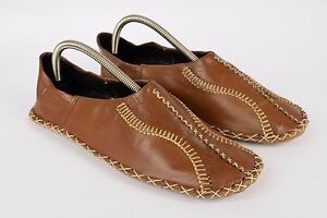 234900238acf Vintage Balgha mens Moroccan UK 8 EU 42 Handmade Leather ...