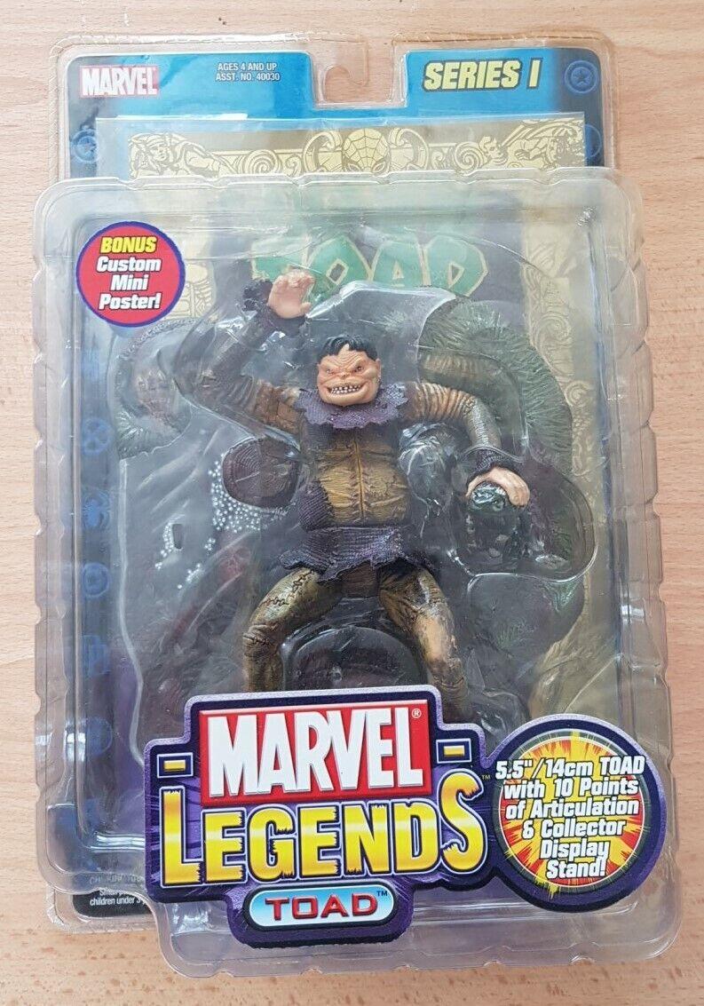 Toad Marvel Marvel Marvel Legends Series 1 Hot  NIB 2002 gold Poster X-Men eff76a
