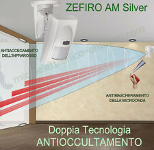 ZEFIRO AM Sensore Antifurto doppia tecnologia compatibile Sistema Allarme Bentel
