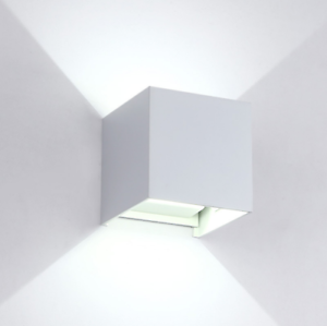 7W LED Gips Wandleuchte Lichteffekt Gipsleuchte Stiftsockellampe