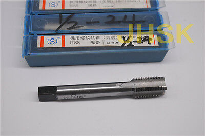 1pcs HSS Right Hand Tap G1//2-14 Taps Right helix Inch MACHINE TAP G BSP 1//2