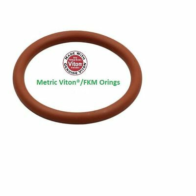 Viton Heat Resistant Brown O-rings  Size 020 Price for 25 pcs
