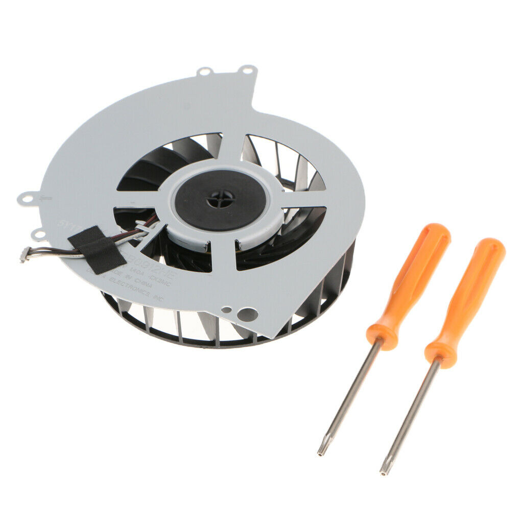 Replacement Internal Cooling Fan Cooler with Screwdriver Tool for 4 PS4 1000