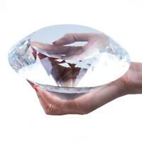 Longwin 150mm Crystal Diamond Paperweight Wedding Venue Decorations Gift Packing