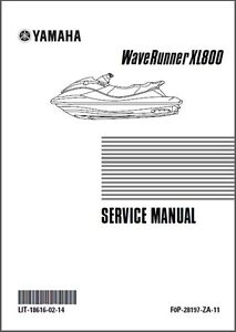 yamaha waverunner xl800 jet ski service repair manual cd xl 800 rh ebay com 2000 yamaha waverunner xl800 manual 2001 yamaha waverunner xl800 owners manual