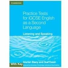 Practice Tests for IGCSE English as a Second Language : Listening and...
