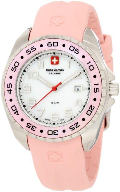Swiss Military Calibre Women's 06-6S1-04-008 Sealander Pink MOP Watch