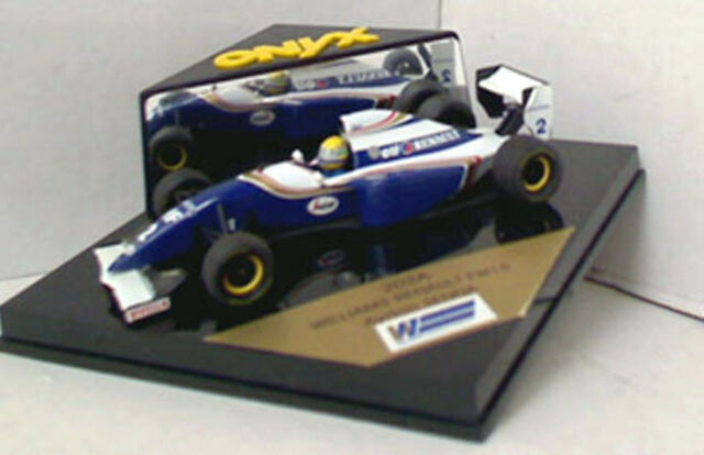 ONYX 202A WILLIAMS RENAULT FW16 F1 car AYRTON SENNA with helmet decals 1:43rd