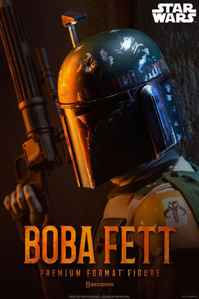 Boba Fett Premium Format Figurine Figurine Figurine Statue Star Wars de Collection Sideshow 1343ed