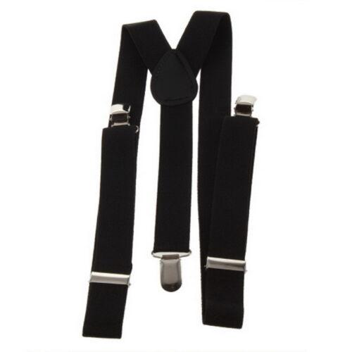 Adjustable Brace Clip-on Unisex Pants Elastic Adult Child Y-back Suspender-Y RW