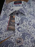 Casa Moda 100 Paisley Short Sleeve Cotton Shirt 2xl3xl4xl5xl6xl7xl
