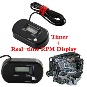 1-Pcs-New-Motorcycle-Car-RL-HM025R-Accurate-Digital-resettable-Tach-Hour-meter
