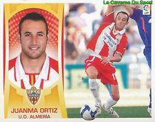 11 JUANMA ORTIZ ESPANA UD.ALMERIA STICKER ESTE LIGA 2010 PANINI