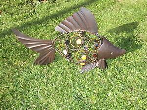 Decorazioni Da Giardino : Statua da giardino pesce decorazione koy carpa rosso goldorfe