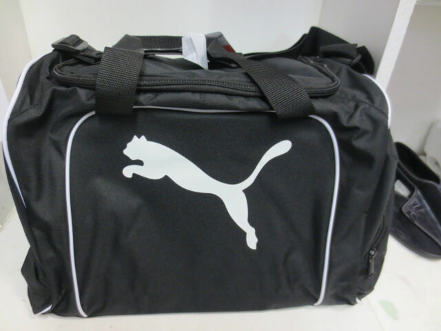 PUMA LARGE BLACK SPORTS BAG  -07119601