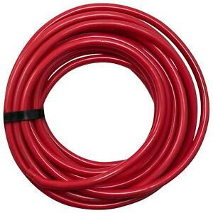 25 FT Red 2/0 AWG Gauge Bulk Battery Cable Switch Starter & Ground 100% Copper