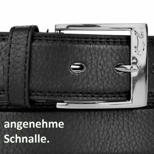 VEN TOMY® Gürtel Herren Damen Oversize Extra lang XXL Echt PU Leder Belt Lang