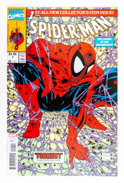 "Spider-Man #1 Facsimile Edition (2020 Marvel) Todd McFarlane ""Torment"" NM"