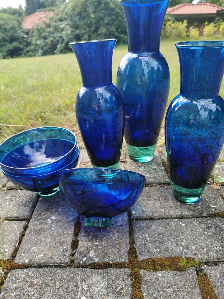 Glas, Vase skål, Holmegaard / royal copenhagen