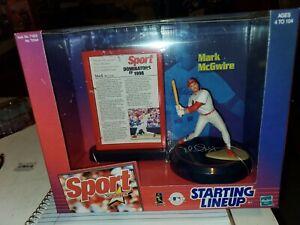 MARK McGwire * Hasbro STARTING LINEUP Sport Stars 1999 Special Edition Figurine