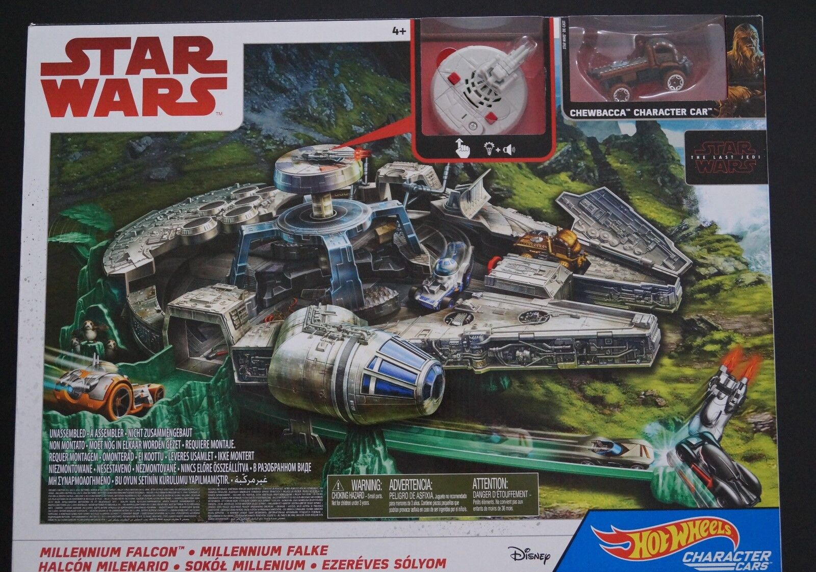 Mattel Hot Wheels Star Wars Episode 8 Millenium Falcon Spielset Star Wars
